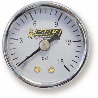 Earls Fuel Pressure Gauge