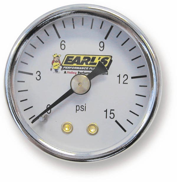 Earls Fuel Pressure Gauge