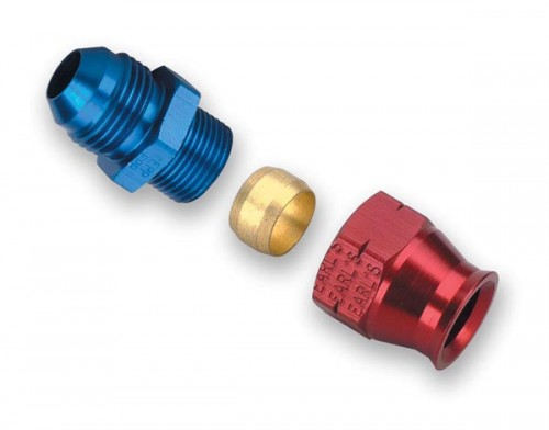 """Earls -6 AN Male to 5/16"""" Tubing Adapter"""