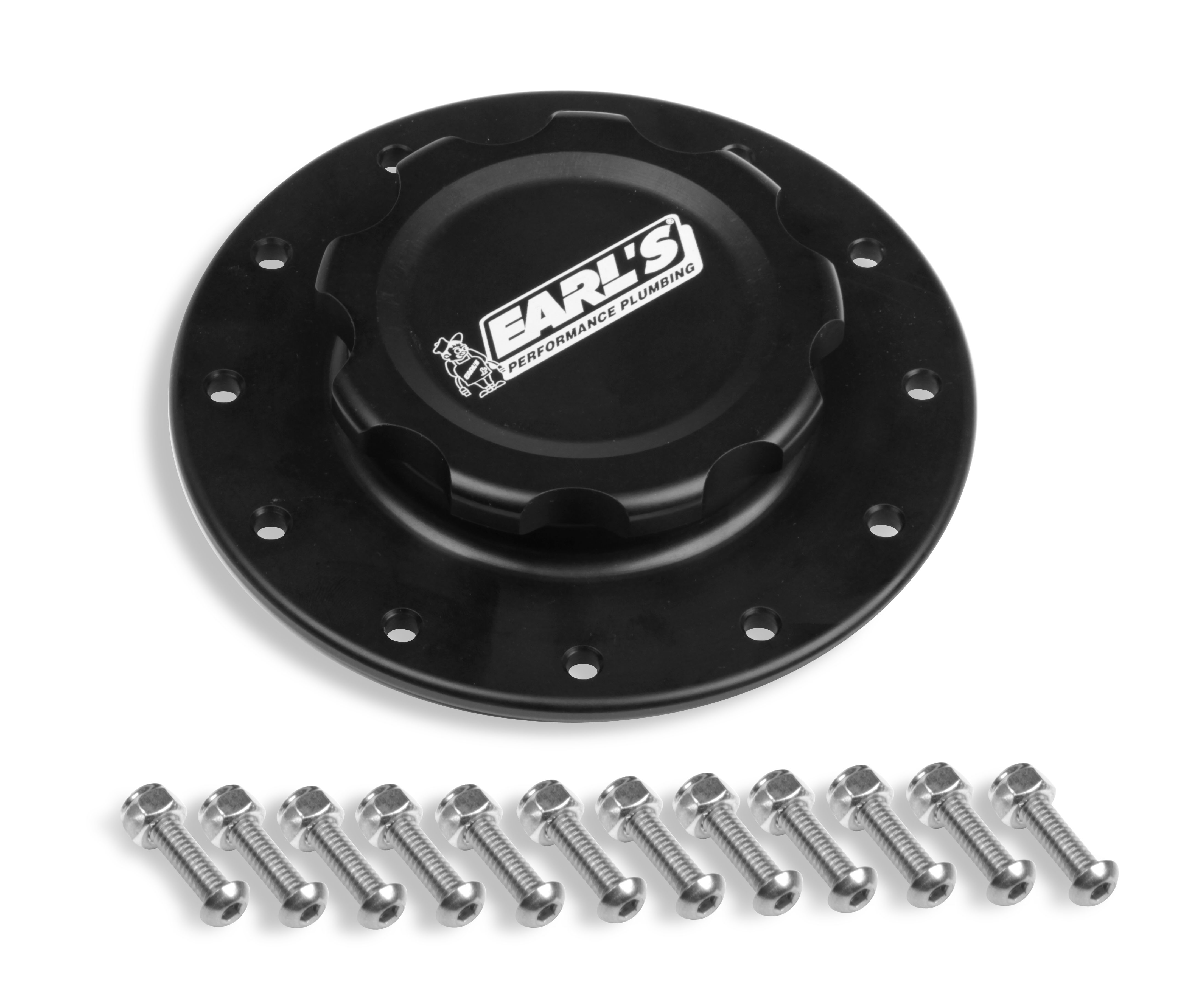 Earls Billet Fuel Cell Cap