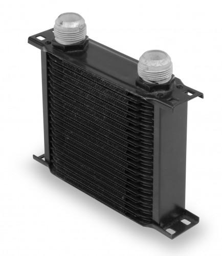 Earls 19 Row Oil Cooler -16 AN Black
