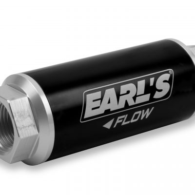 Earls 260 GPH HP Billet Fuel filter - 10 micron (-12AN)