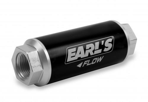Earls 260 GPH HP Billet Fuel filter - 10 micron (-12AN)