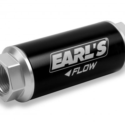 Earls 260 GPH HP Billet Fuel filter - 40 micron (-12AN)