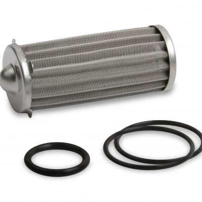 Earls 260 GPH HP Billet Fuel Filter Element & O-Ring Kit - 100 micron