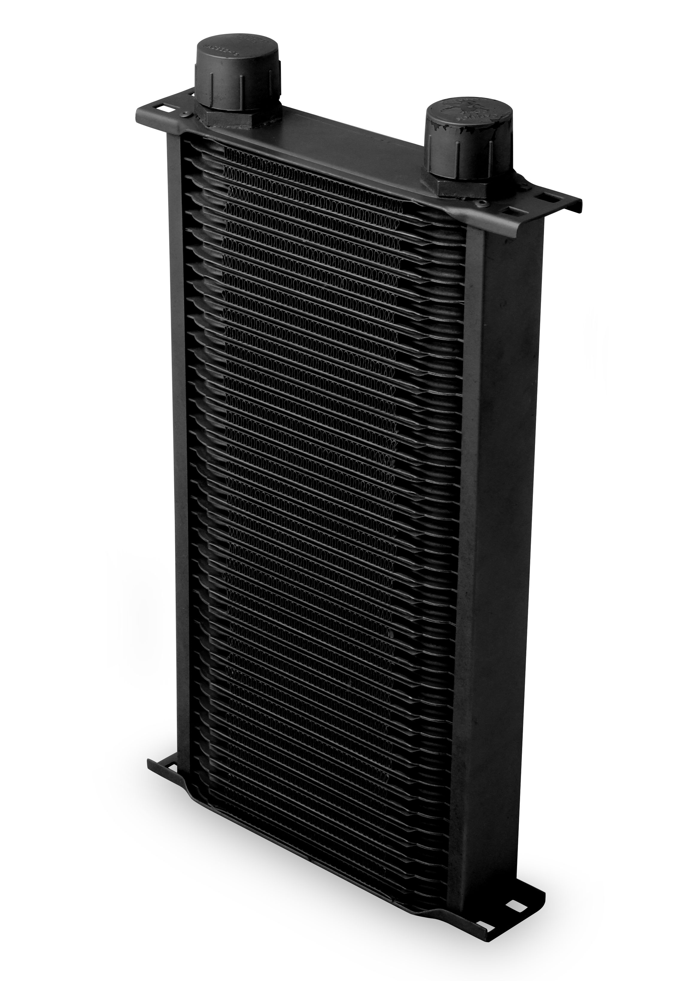 Earls 42 Row Oil Cooler -16 AN Black