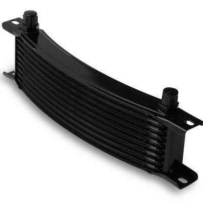 Earls 10 Row Oil Cooler Core, -6 AN male fitting size, black narrow