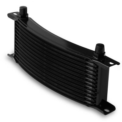 Earls 13 Row Oil Cooler Core, -6 AN male fitting size, black narrow