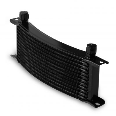 Earls 13 Row Oil Cooler Core, -8 AN male fitting size, black narrow