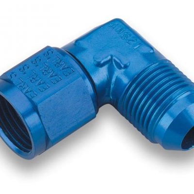 Earls 90 Degree -10 AN Male to -10 AN Female Swivel