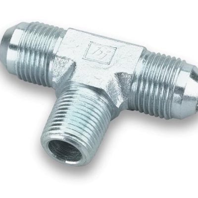 "Earls Male AN -3 ""T"" to 1/8"" NPT on Branch"