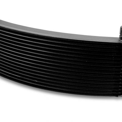 Earls 16 Row Oil Cooler Core, -6 AN male fitting size, black wide