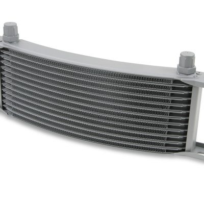 Earls 16 Row Oil Cooler Core, -8 AN male fitting size, gray narrow