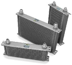 Earls 25 Row Oil Cooler -16 AN Black